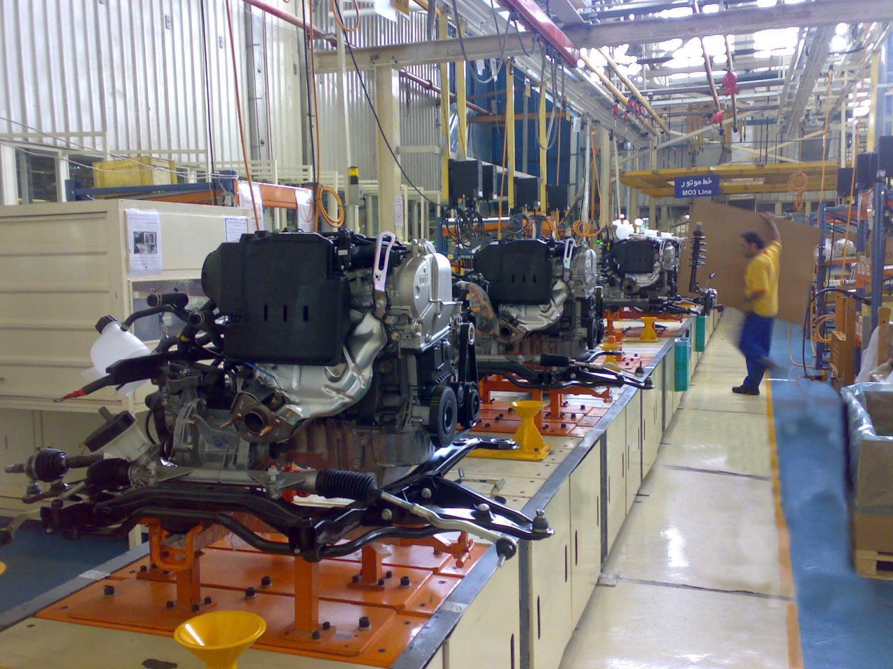 تولید و تجهیز موتور